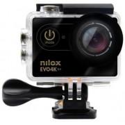 Camera video de Actiune Nilox Evo 4K S+, Filmare 4K, 16 MP, Wi-Fi (Negru)