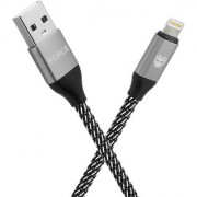 Storm Force Lightning MFi Certified 6ft Long Nylon Braided Original Tough Cable for iPhone iPad and iPod Super F