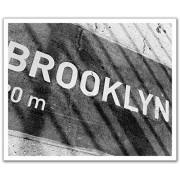 JP London POSLT2178 uStrip Lite Removable Extra Large Decal New York City Brooklyn No Sleep Till Beastie, 24-Inch x 19.75-Inch