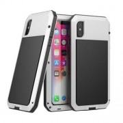 Apple Vattentätt metallväska för iPhone XR - Vit
