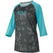 IXS Carve 3/4 Camiseta de las señoras Turquesa 44