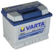 Baterie auto 12V 60Ah D43 Varta Blue Dynamic 560127 054 borna inversa
