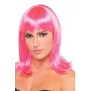 Be Wicked Wigs Doll Pruik - Roze