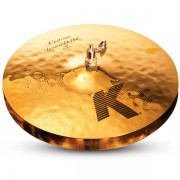 "Zildjian K0993 14"" Session HiHats Par Pratos de choque"