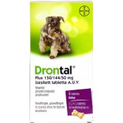BDV Drontal Plus tabl. a.u.v. - 6x