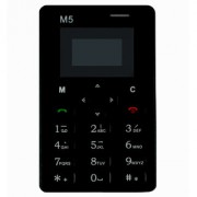 nanoTel M5 BT dialer smallest lightest lowest radiation credit card size GSM phone