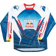 Kini Red Bull Competition Camiseta de 2016 Blanco Azul XL