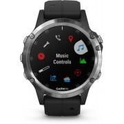Garmin Fenix 5 Plus - orologio GPS multisport - Silver/Black