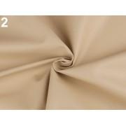 Ekobőr anyag táskákhoz, dekorációkhoz, 140cm/0.5m, bézs, 380735-2