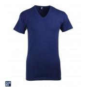 Alan Red Oklahoma Stretch T-Shirt V-Hals Marineblau - Blau S