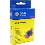 CANON CLI-8 M - magenta iP4200/ip4500/5200/6600/MP500/MP800 - С Чип - G&G