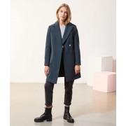 Etam Manteau droit - VICKY - 40 - Vert - Femme - Etam