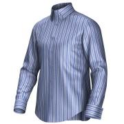Maatoverhemd blauw 54412