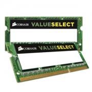 Memorie Corsair Value Select SODIMM 16GB (2x8GB) DDR3L 1600MHz CL11 1.35V, Dual Channel Kit, CMSO16GX3M2C1600C11