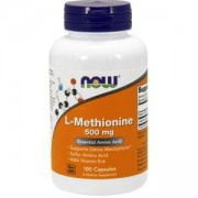 Л-Метионин 500 мг. - L-Methionine - 100 капсули - NOW FOODS, NF0117