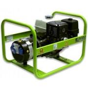 Generator portabil de curent electric monofazat, motor benzina, 6.4KW, Pramac MES8000
