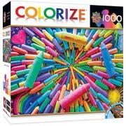 Master Pieces Colorize! Colors Of Childhood Puzzle (1000 Piece)