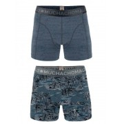 MuchachoMalo Boys 2-pack short print jeans jeans print