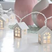3M Con 20 Lámpara De Cadena Como Casilla Para Navidad O Adornar - Amarillo