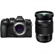 Aparat foto Mirrorless Olympus OM-D E-M1 Mark II 20 Mpx Black Kit EZ-M12-100 PRO