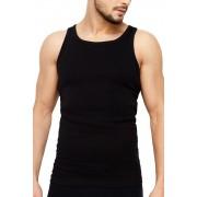 ROSSLI Premium Cotton férfi alsó trikó fekete L