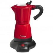 Bestron Moka kávovar na 6 šálok, 480 W, červený, AES480