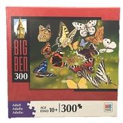 Hasbro Big Ben BUTTERFLIES IN FLIGHT 300 Pc Jigsaw Puzzle