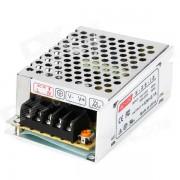 Transformador de fuente de alimentacion 12V 2.1A para bombilla de corriente continua - plata (AC 100 ~ 120V / 200 ~ 220V)