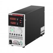 Fonte de alimentação de laboratório - 0-60 V - 0-15 A - 300 W - USB - LAN - RS232
