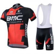 Equipación Ciclista Corta BMC 2019