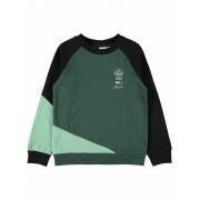 Name It! Jongens Sweater - Maat 152 - Donkergroen - Katoen/polyester
