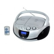 RADIO CD MP3 PORTATIL NEVIR NVR-480UB PLATA - BLUETOOTH - Inside-Pc