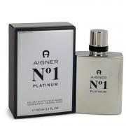 Aigner No. 1 Platinum Eau De Toilette Spray By Etienne Aigner 3.4 oz Eau De Toilette Spray