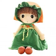 Girls Toys Baby Girl Doll Toys for Kids Gift Ideas 15 Inch (Green)