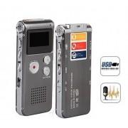 Diktafon 4GB s možností nahrávání mobilu