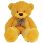 MS Aradhyatoys Teddy Bear Soft Toy Yellow 3 fit