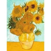 Puzzle Ravensburger - Vincent Van Gogh: The Sunflowers, 300 piese (14006)