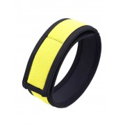 RudeRider Neoprene Puppy 2 Biceps Straps Black/Yellow