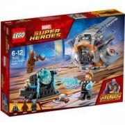 Конструктор Лего Супер Хироус - Thor в търсене на оръжие, LEGO Marvel Super Heroes, 76102