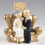 Figura pastel Pop&Fun Bodas de Oro