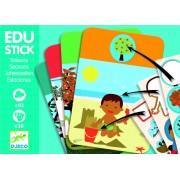 Edu-Stick Djeco, Stickere educative cu Anotimpuri