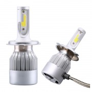 Kit 2 led-uri auto H4 C6, 48 W, 6000K, 3800 lm
