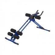 AB Cruncher Máquina treino abdominais azul