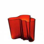 Alvar Aalto Vase Cranberry 160 mm Iittala