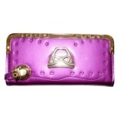 Pin to Pen Casual Pink Clutch