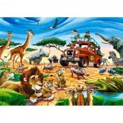 Puzzle Castorland - Safari Adventure, 180 piese (18390)