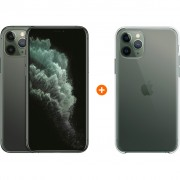 Apple iPhone 11 Pro 64 GB Midnight Green + Apple iPhone 11 Pro Clear Case