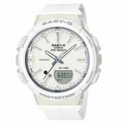 casio baby-g BGS-100-7A1 para correr series reloj - blanco