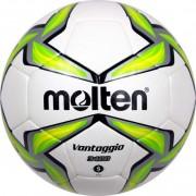 molten Fußball F5V3400-G - Weiß / Grün / Silber | 5