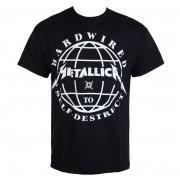 Herren T-Shirt Metal Metallica - Hardwired Domination - - RTMTLTSBDOM